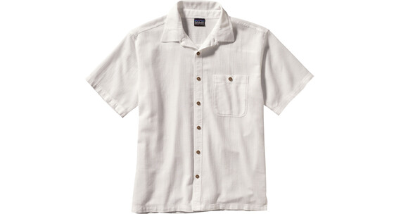 Patagonia M's A/C Short Sleeve Shirt White (725)